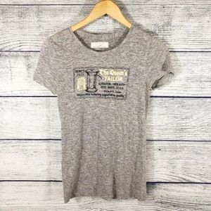 J Crew The Queen's Tailor graphic tee size Small